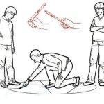 Уличная игра: Земельки (ножички, земли)