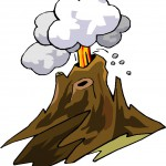Как сделать вулкан дома