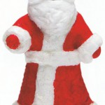 Игрушки из ваты: Дед Мороз