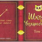 Делаем книжку «Школа волшебства» (часть 3)