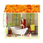 Бумажный домик: ванная комната