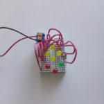 Дополнительная схема для Микроника (Амперка): Семисегментный индикатор