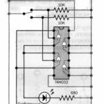 Дополнительная схема для Микроника (Амперка): Триггер