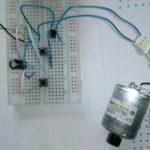 Дополнительная схема для Микроника (Амперка): Временное включение моторчика