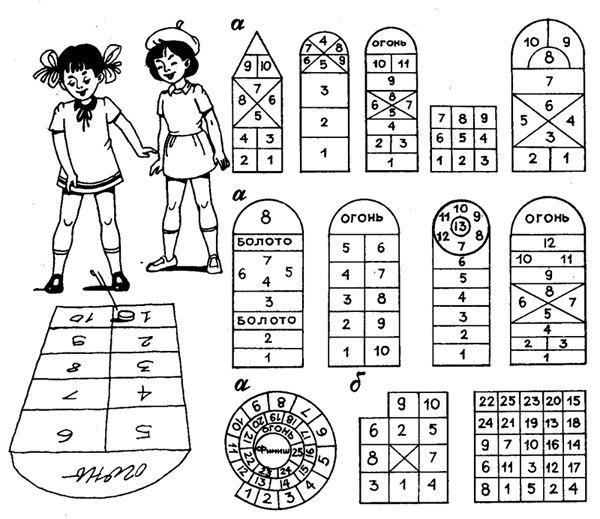 виды поля для игры классики