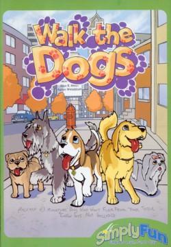 настольная игра погуляй с собаками
