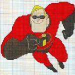 Вышиваем крестиком: Суперсемейка