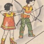 Игра: Стрельба по соломенным бабкам