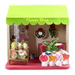 Бумажный домик: цветочный магазин