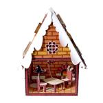 Бумажный домик: прянечный домик