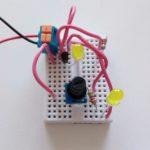 Дополнительная схема для Микроника (Амперка): Делитель напряжения