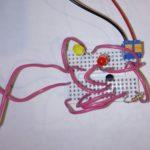 Дополнительная схема для Микроника (Амперка): Светофор
