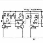 Дополнительная схема для Микроника (Амперка): Генерируем звук на мультивибраторе