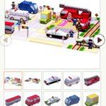 Бумажные схемы: Городские автомобили