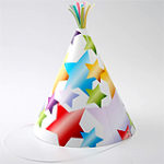 Бумажная схема: Праздничные колпаки