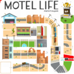 Настольная игра: Жизнь в мотеле (Motel Life, Мотель)